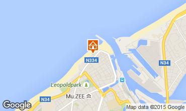 Kaart Oostende Appartement 31824