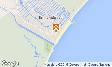 Kaart Empuriabrava Huis 68861