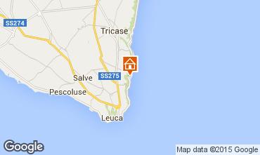 Kaart Marina di Novaglie Studio 74731