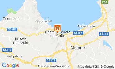 Kaart Castellammare del Golfo Appartement 118185