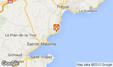 Kaart Les Issambres Villa 15629