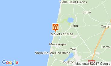 Kaart Moliets Huis 110649