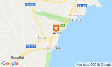 Kaart Avola Appartement 57459