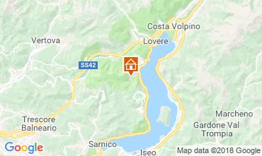 Kaart Riva di Solto Appartement 113416