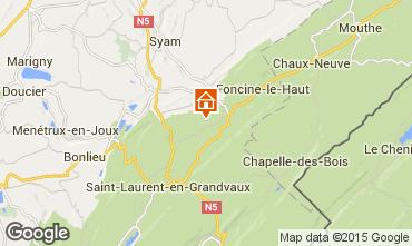 Kaart Fort-du-Plasne Vakantiehuis 75051