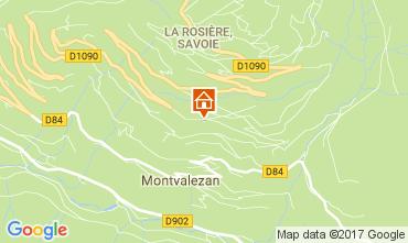 Kaart La Rosière 1850 Appartement 81095
