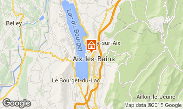 Kaart Aix Les Bains Appartement 80483
