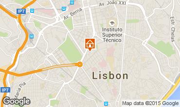 Kaart Lissabon Appartement 91900
