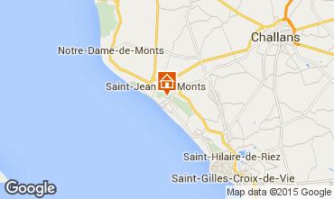 Kaart Saint Jean de Monts Huis 101880