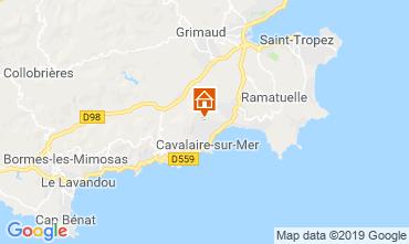 Kaart Saint Tropez Villa 118878