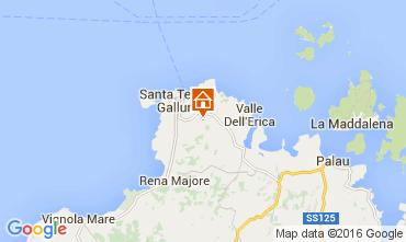 Kaart Santa Teresa di Gallura Villa 82142