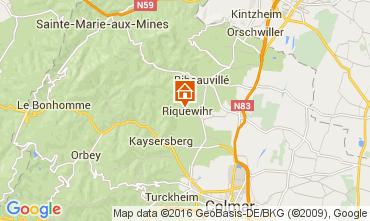 Kaart Riquewihr Appartement 103935