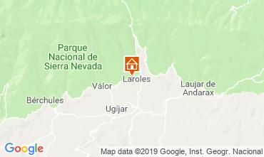 Kaart Granada Vakantiehuis 83882