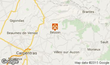 Kaart Bedoin Villa 100065