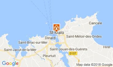 Kaart Saint Malo Studio 50940