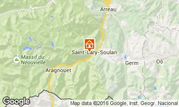 Kaart Saint Lary Soulan Studio 4422