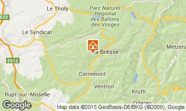 Kaart La Bresse Chalet 66776