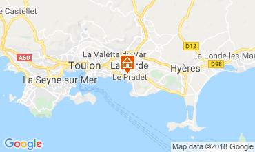 Kaart Le Pradet Studio 117241