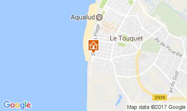 Kaart Le Touquet Studio 15973