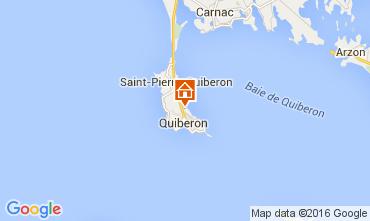 Kaart Quiberon Appartement 28761