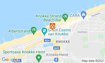 Kaart Knokke-het-Zoute Studio 109423