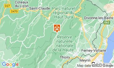 Kaart Les Rousses Appartement 3730