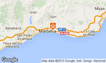 Kaart Marbella Villa 64364