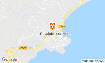 Kaart Cavalaire-sur-Mer Appartement 80263