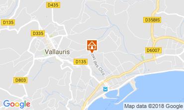 Kaart Golfe Juan Villa 113495