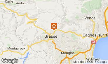Kaart Grasse Vakantiehuis 44035