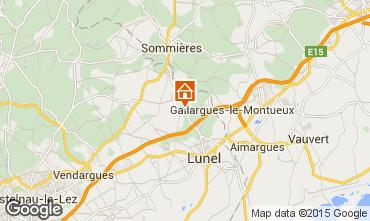 Kaart Montpellier Villa 9203