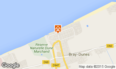 Kaart Bray-Dunes Studio 8904