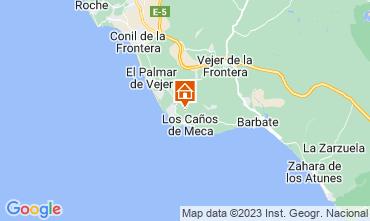 Kaart Los Caños de Meca Villa 107911
