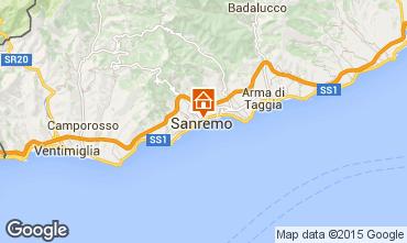 Kaart Sanremo Appartement 70549