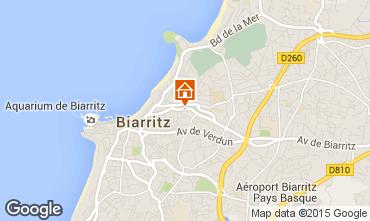 Kaart Biarritz Appartement 92285
