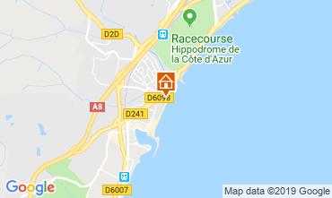Kaart Villeneuve-Loubet Appartement 118861
