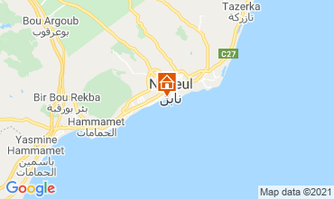 Kaart Nabeul Bungalow 25078