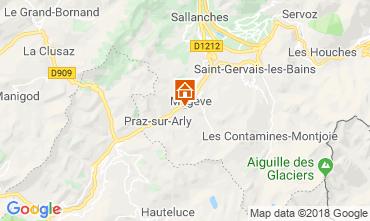 Kaart Megève Chalet 117151