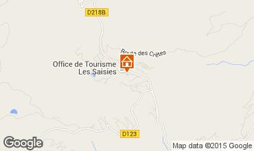 Kaart Les Saisies Appartement 65900