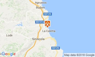 Kaart Posada Appartement 69388