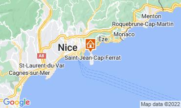 Kaart Nice Villa 113634
