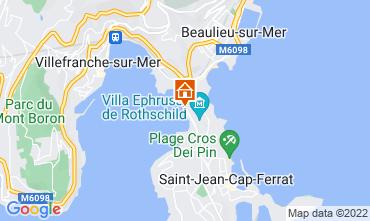 Kaart Beaulieu sur Mer Villa 113634