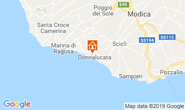 Kaart Donnalucata Appartement 113933