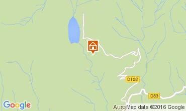 Kaart Aussois Chalet 26892
