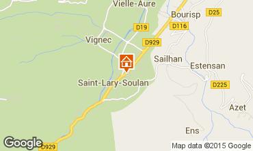Kaart Saint Lary Soulan Appartement 19638
