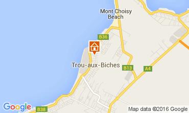 Kaart Trou-aux-biches Appartement 82122