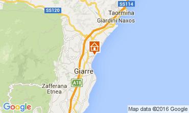 Kaart Taormina Appartement 74835