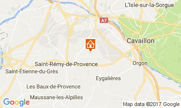 Kaart Saint Rémy de Provence Vakantiehuis 107964