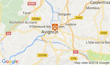 Kaart Avignon Appartement 115919