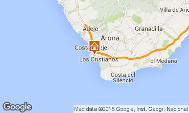 Kaart Los Cristianos Studio 77464